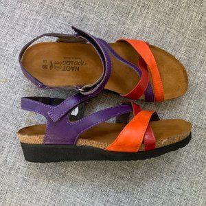 Naot Shoes - NAOT 'Sophia'  Multicolor Leather Straps Sandals 8